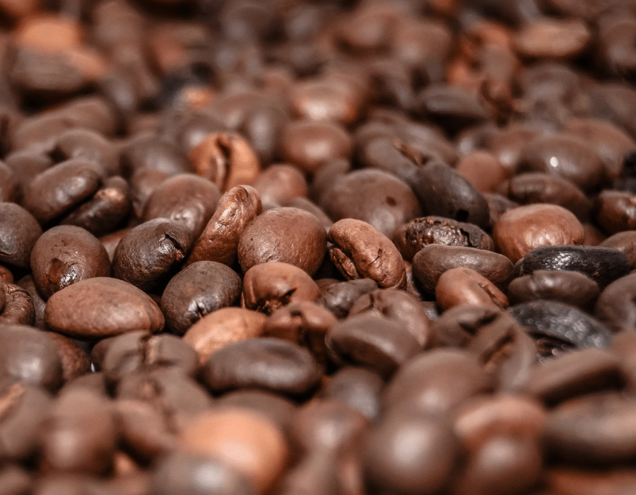 Medium Dark Roasted coffee beans