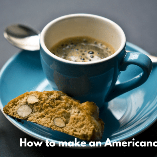 How to make an americano