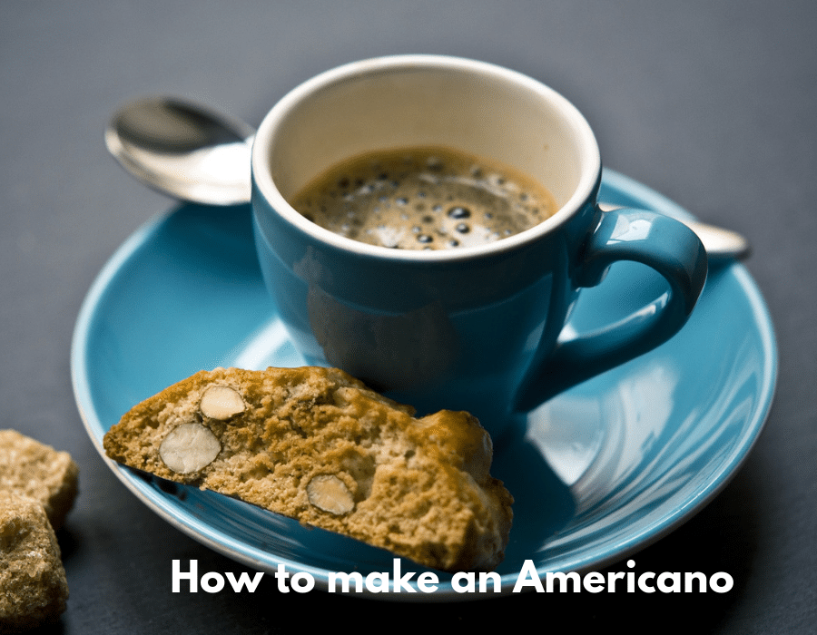 How to make an americano