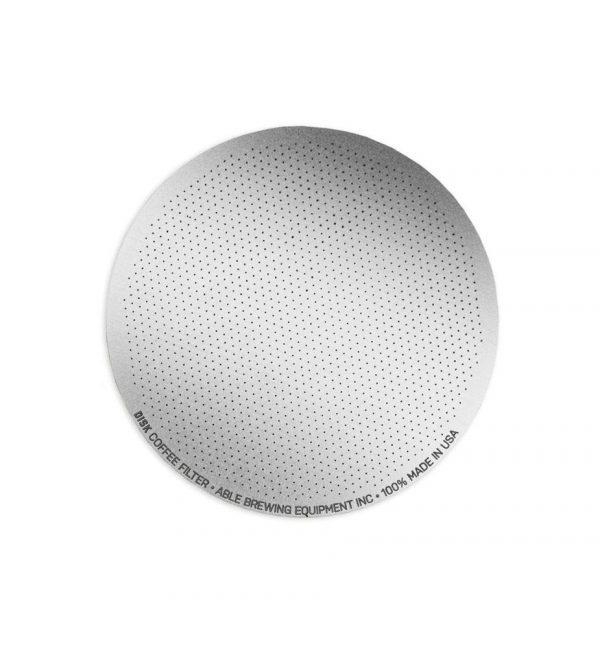 Aeropress coffee maker reusable fine filter