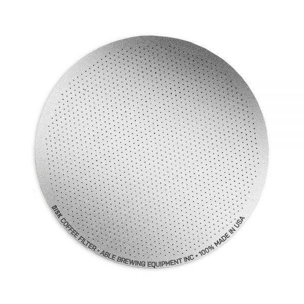 Able AeroPress Coffee Disk Filter Standard open