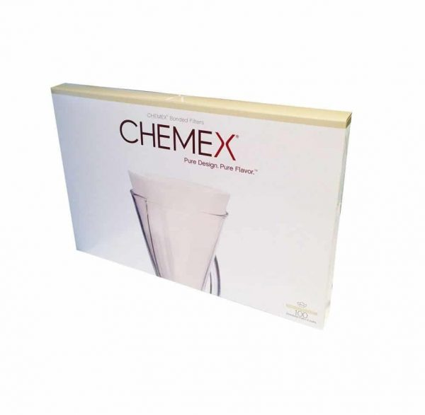 Chemex Bonded Half Circle Unfolded Filter Papers