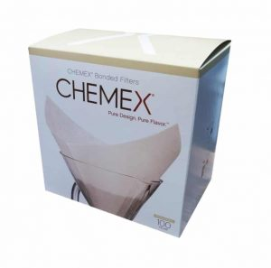 Chemex Pre-Folded Squares Filter Papers