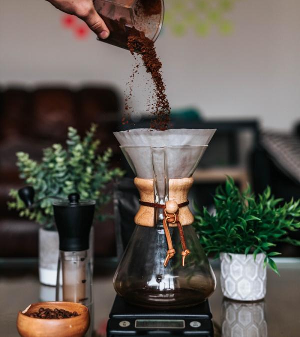 Chemex coffee maker