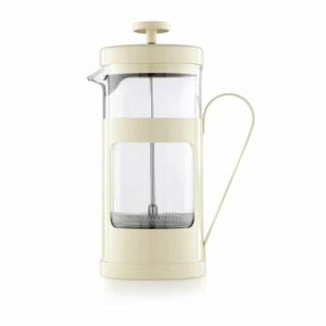 Cream Coloured 8 Cup La Cafetiere Monaco Cafetiere French Press