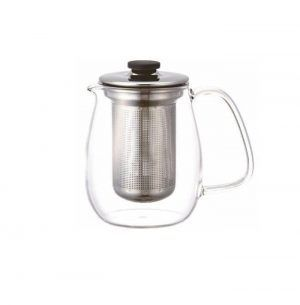 Kinto Unitea Teapot Set Large Stainless Steel