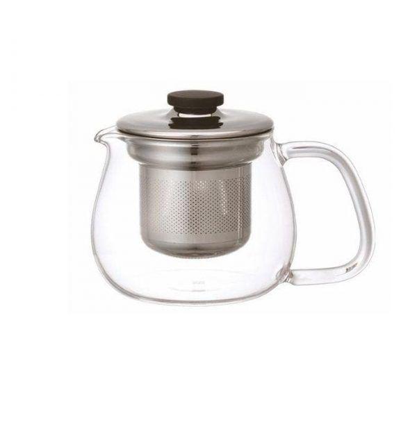 Kinto Unitea Teapot Set Small Stainless Steel