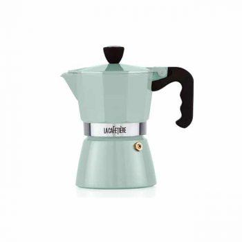 La Cafetiere Classic Espresso 3 Cup Pistachio Green Moka Pot