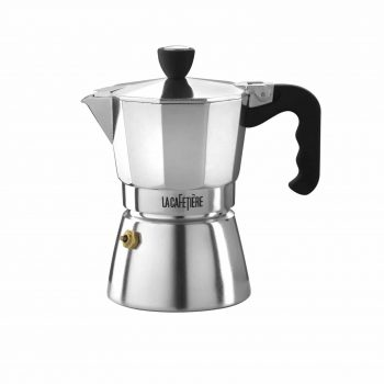 La Cafetiere Classic Espresso 3 Cup Polished Moka Pot