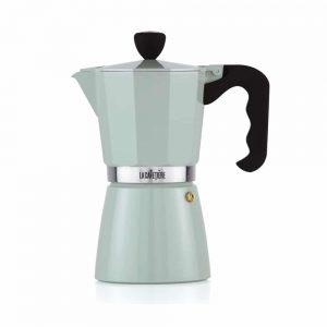 La Cafetiere Classic Espresso 6 Cup Pistachio Green Moka Pot
