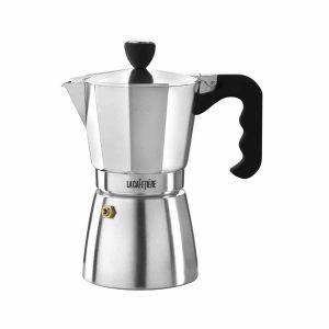 La Cafetiere Classic Espresso 6 Cup Polished Moka Pot