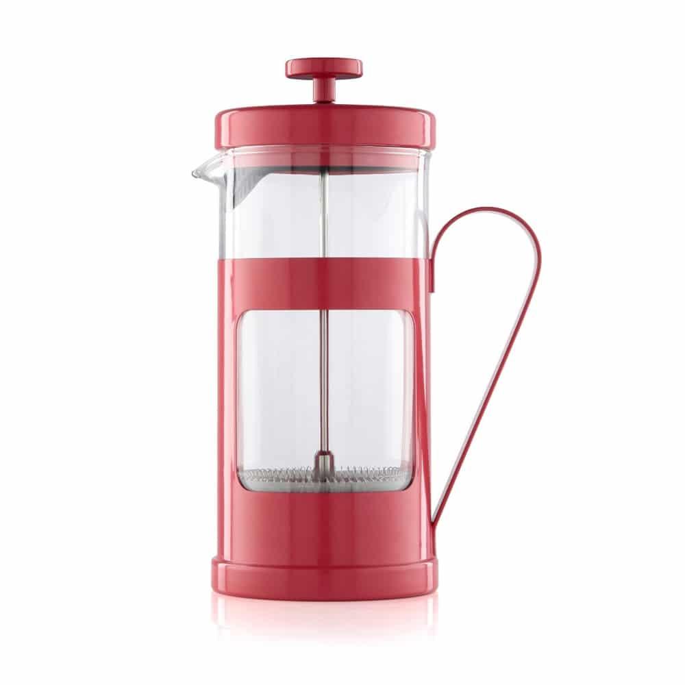 Red 8 Cup La Cafetiere Monaco Cafetiere