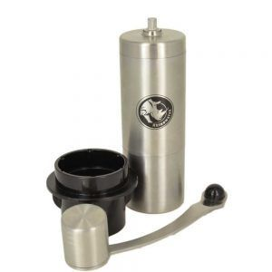 Rhinowares Mini Hand Coffee Grinder With Aeropress Adapter