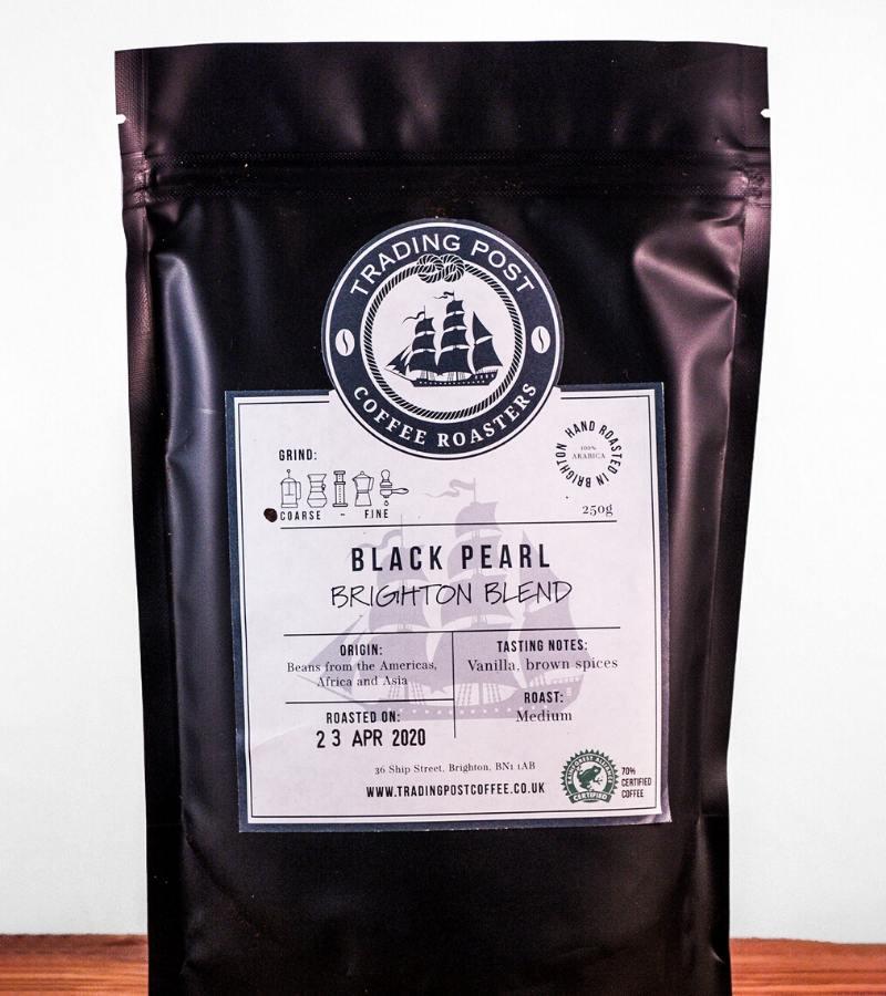 Black Pearl Coffee Beans