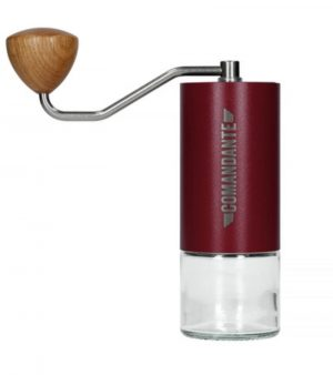 Comandant C40 MK3 Nitro Blade Burgandy Manual burr Coffee Grinder