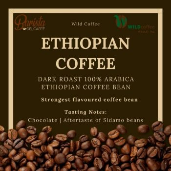 Dark Roast 100% Arabica Ethiopian Coffee Bean