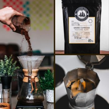 Grand Espresso Traditionally Blended Coffee beans