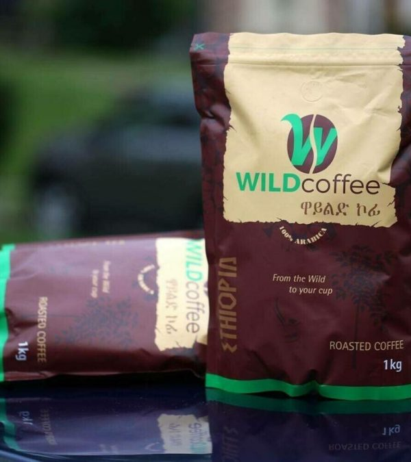 Wild coffee roasted coffee